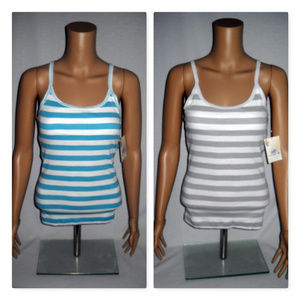 SO 2 Striped Cami Top in Junior Sizes L or XL